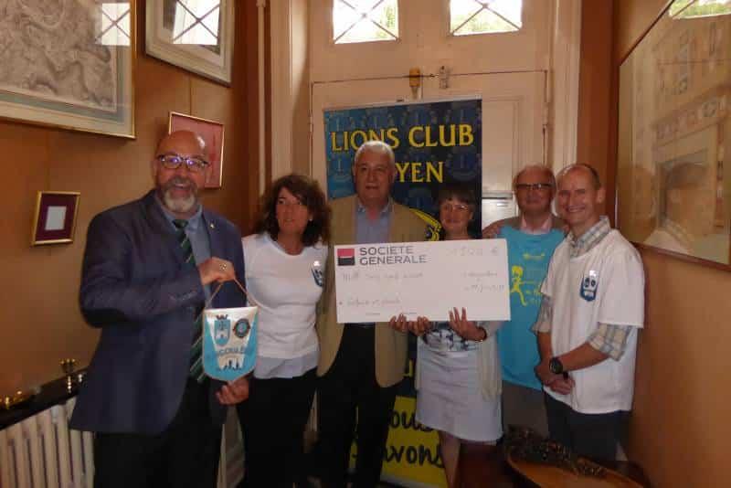 Remise don du Lions Club Angoulême Doyen