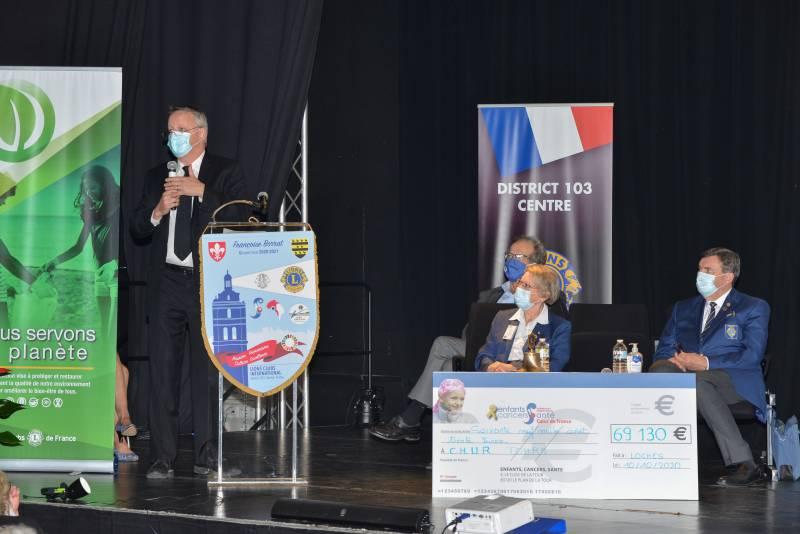 Intervention du Pr HERAULT du CHRU de Tours au congrès Lions de Loches
