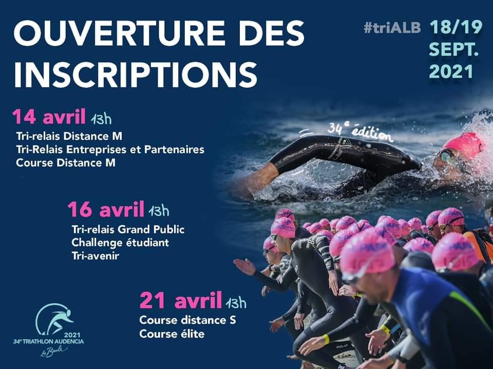 Triathlon de la Baule les 18 et 19 septembre 2021